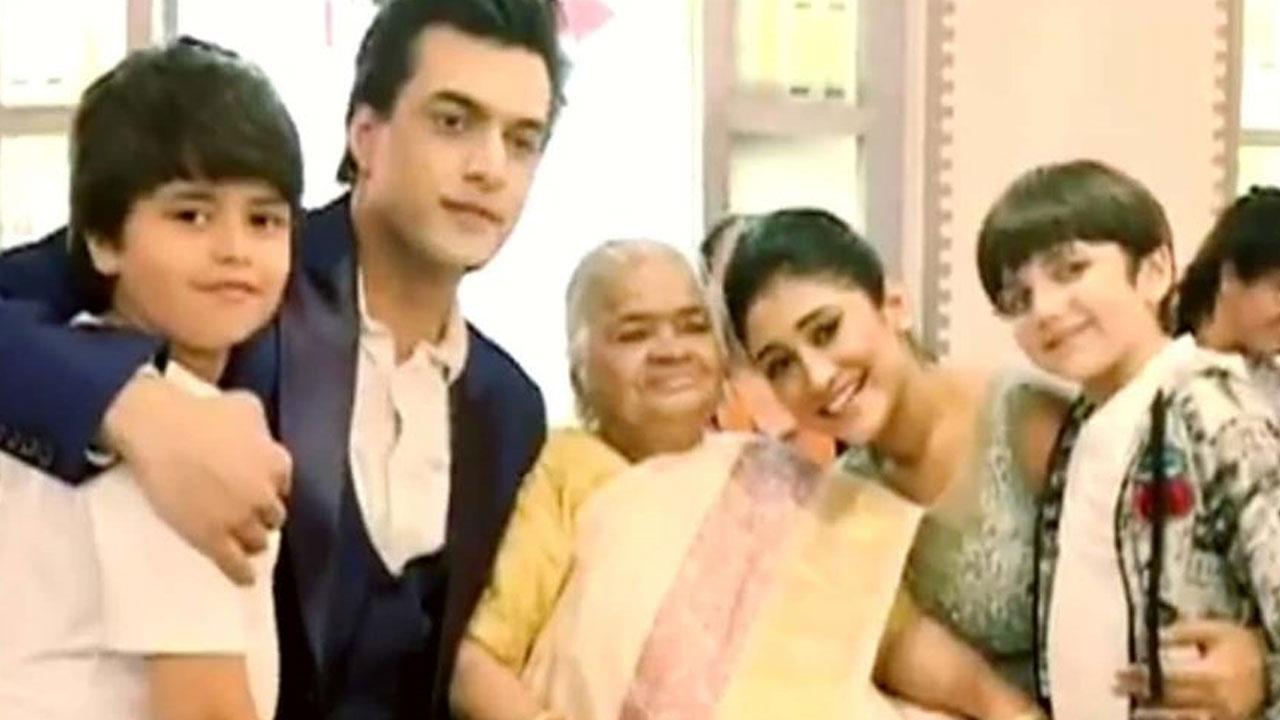 Mohsin Khan gets special blessing from Shivangi Joshi's Nani 1