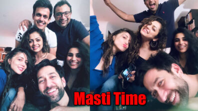 Nakuul Mehta and Drashti Dhami's fun last night masti