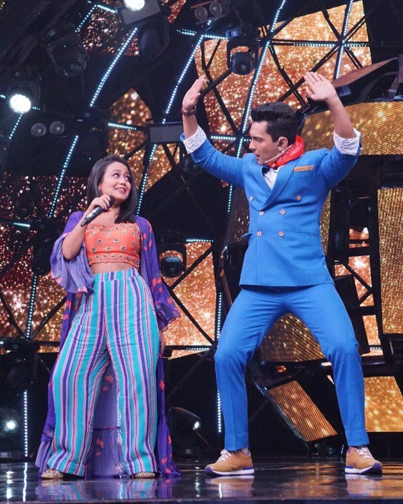 Neha Kakkar and Aditya Narayan ROMANCE comes alive 7