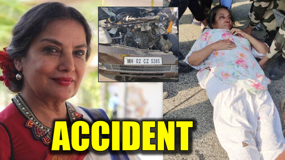 Actor Shabana Azmi injured in auto accident on Mumbai-Pune Expressway