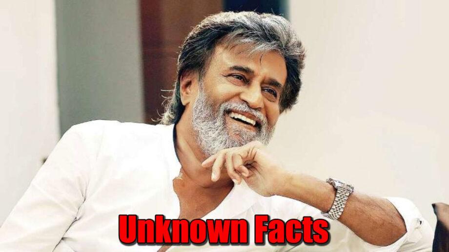 Rajinikanth: 5 Unknown Facts