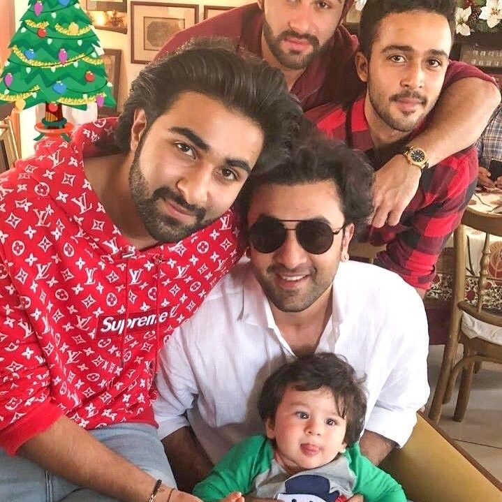 Ranbir Kapoor's ADORABLE moments with Taimur Ali Khan 2