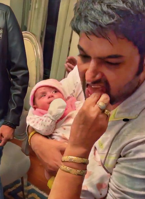 Revealed: Kapil Sharma's daughter's first pictures? 1
