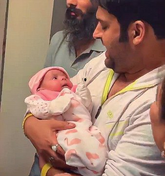 Revealed: Kapil Sharma's daughter's first pictures? 2