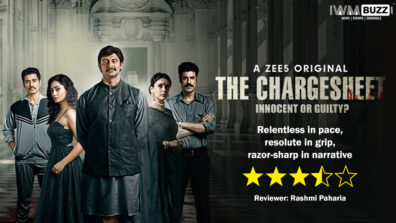 Review of ZEE5's The Chargesheet - Relentless in pace, resolute in grip, razor-sharp in narrative 1