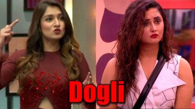 Shefali Bagga calls Rashami Desai 'Dogli'