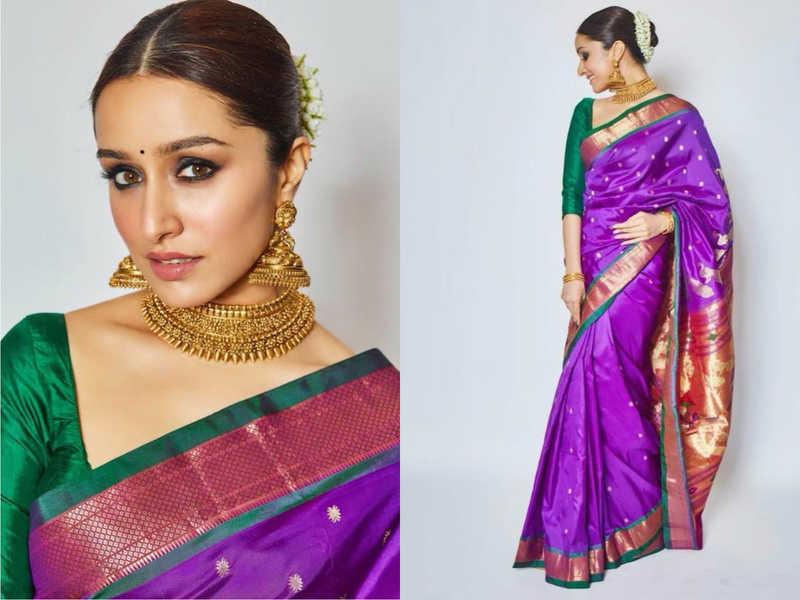 Shraddha Kapoor looks stunning in a saree