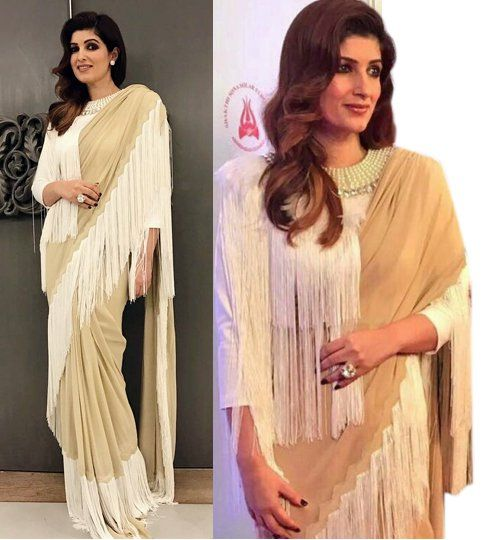 Steal These 5 Sarees From Twinkle Khanna's closet 2