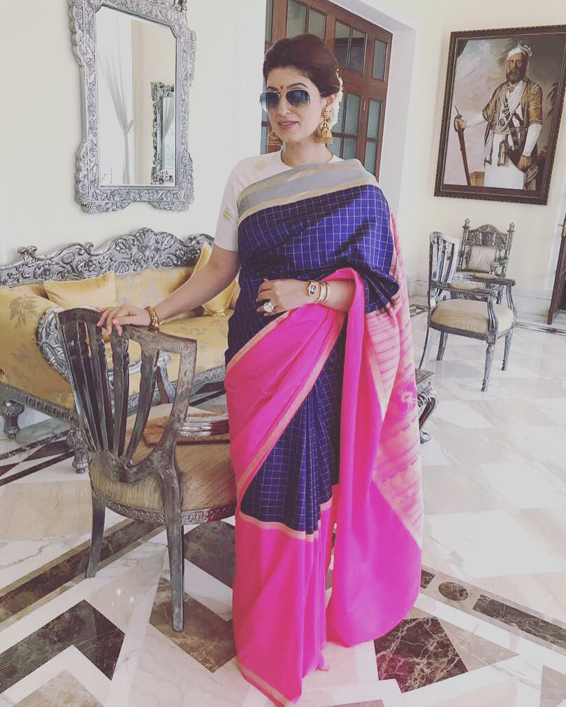 Steal These 5 Sarees From Twinkle Khanna's closet 3