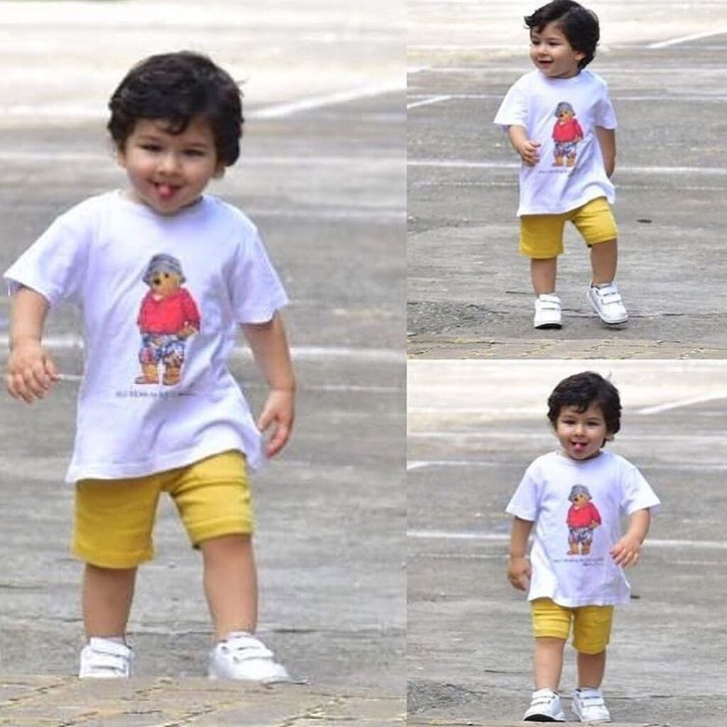 Taimur Ali Khan makes cute faces and is beyond adorable 1