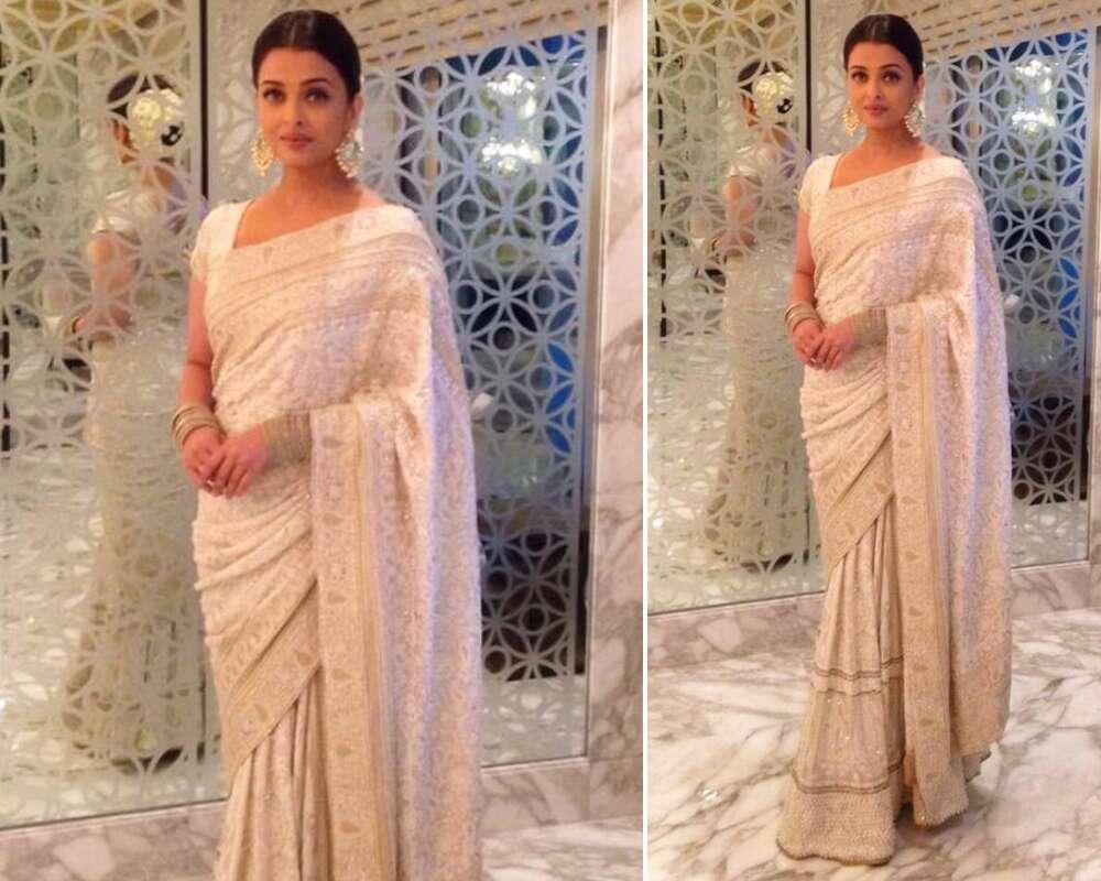 Take A Style Note from Aishwarya Rai Bachchan's Sarees 4