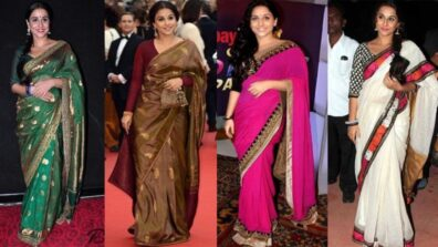 Take Style Notes from Vidya Balan's Sarees