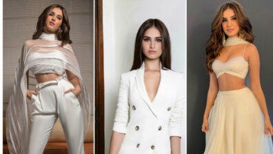 Tara Sutaria shows how a white outfit can be rocked 3