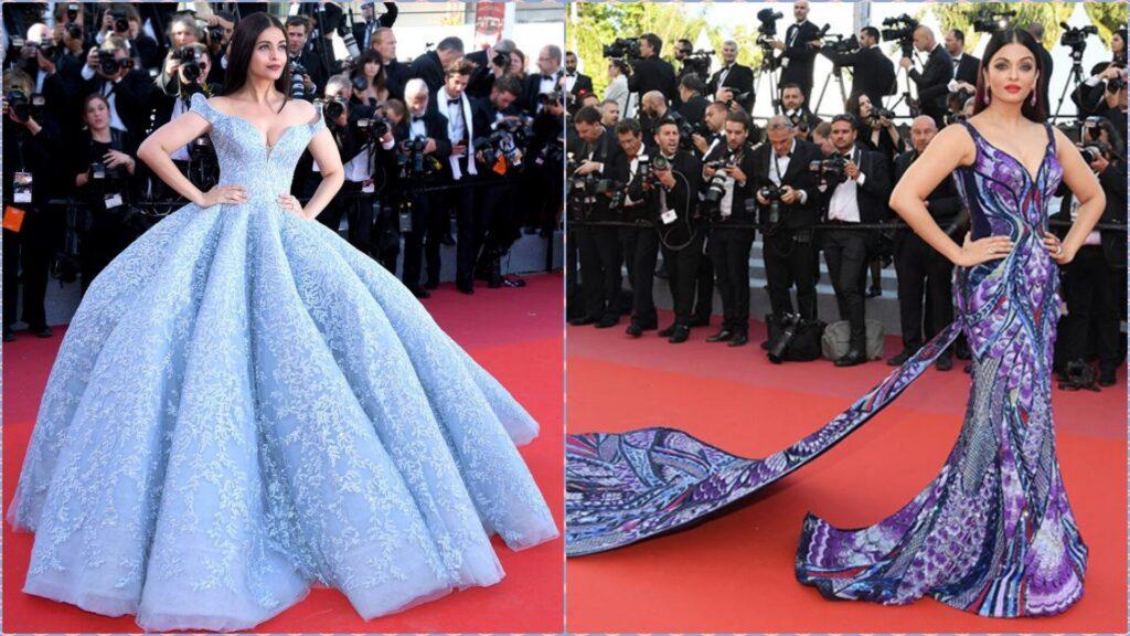 Then vs Now: Aishwarya Rai Bachchan global fashion looks 2