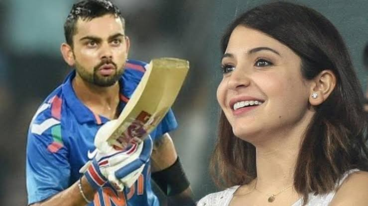 Times When Virat Expressed His Love For Anushka In Ongoing Match