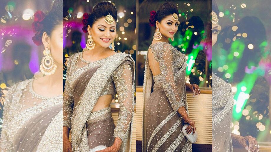 Urvashi Rautela's love for sarees, see pics!