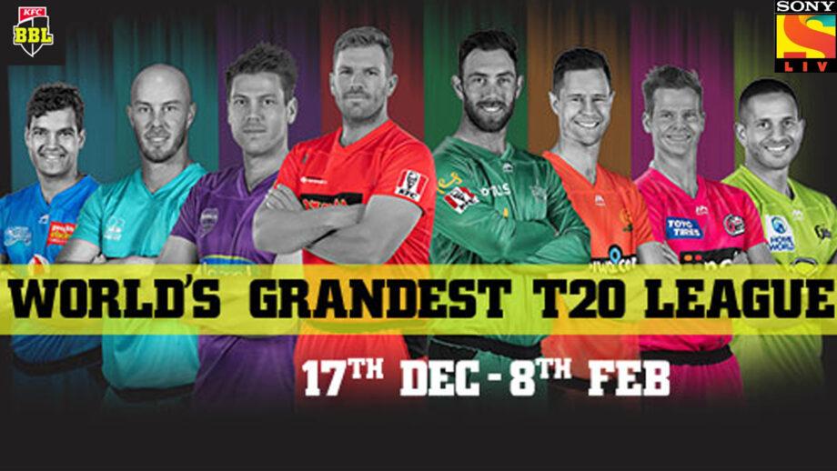 Want some cricketing action, watch SonyLiv's KFC Big Bash Cricket League 2019-20
