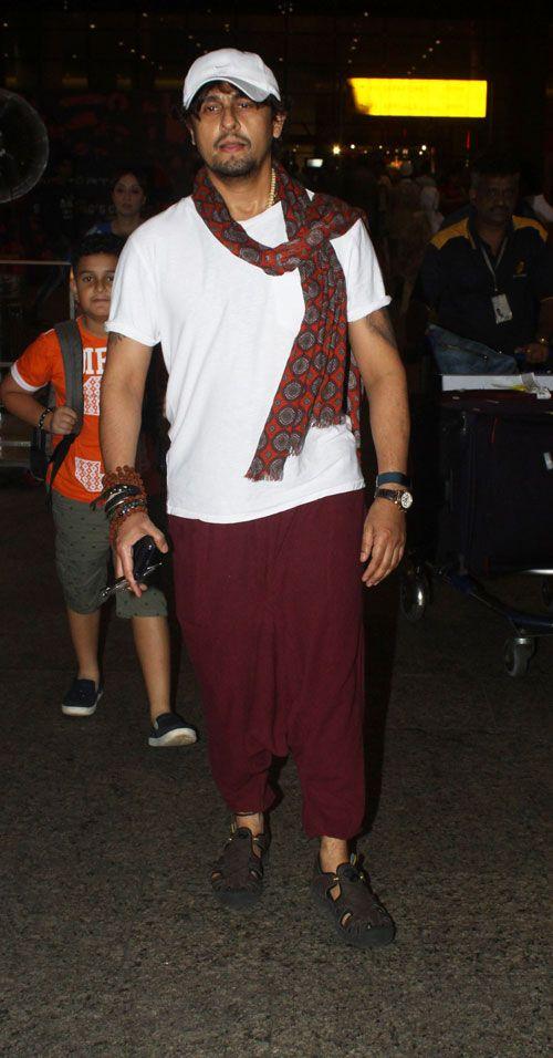 When Sonu Nigam became a fashion icon 1