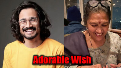 YouTube star Bhuvan Bam calls his mother 'Zindagi'