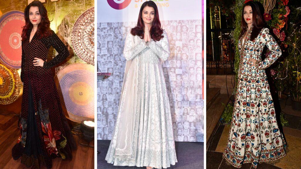 10 Aishwarya Rai Bachchan's Outfits are perfect for Mehendi ceremony 1