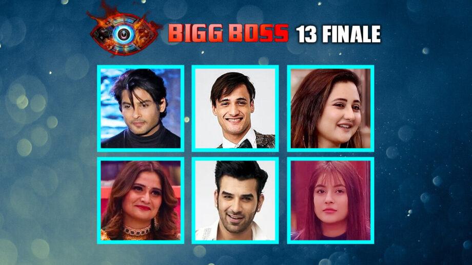 Bigg Boss 13 Finale: Vote for who will win this season, Sidharth Shukla, Asim Riaz, Rashami Desai, Arti Singh, Paras Chhabra, Shehnaaz Gill?