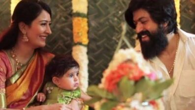 Yash and Radhika Pandit CUTE family pictures