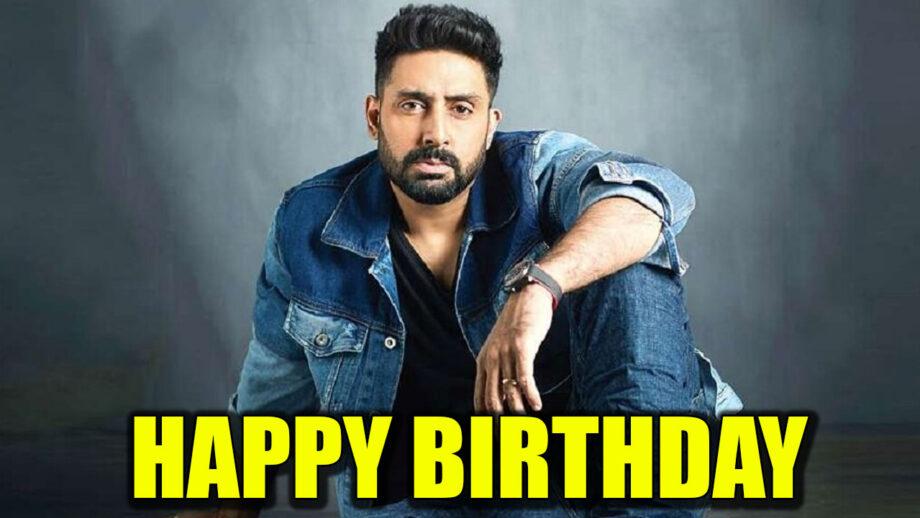 Abhishek Bachchan loves to work on his birthday