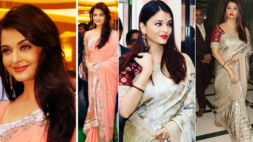 Aishwarya Rai Bachchan in Sabyasachi Or Manish Malhotra Saree: Who'd you prefer?