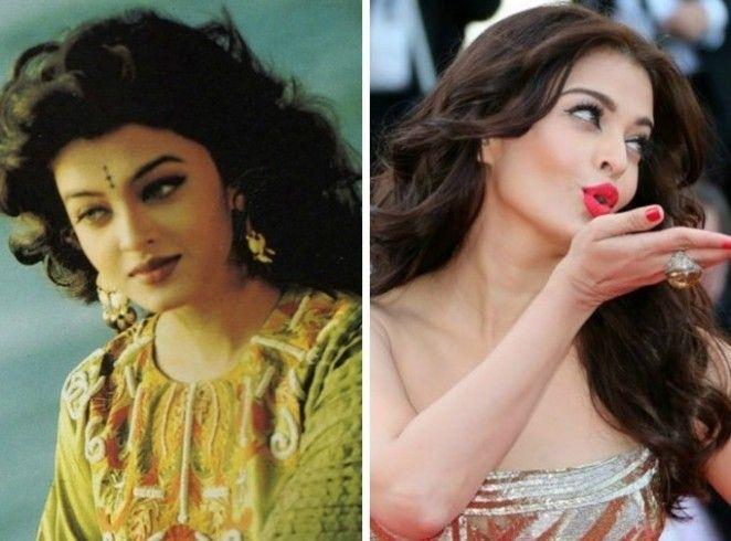 Aishwarya Rai Bachchan, Karishma Kapoor, Madhuri Dixit, Kajol: Then and Now Looks of Bollywood Actresses From 90's 1