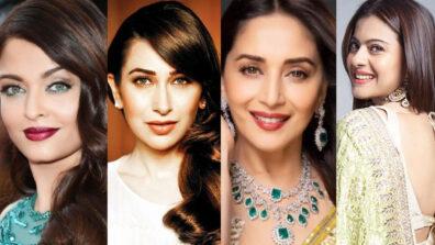 Aishwarya Rai Bachchan, Karishma Kapoor, Madhuri Dixit, Kajol: Then and Now Looks of Bollywood Actresses From 90's 4
