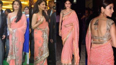 Aishwarya Rai Bachchan or Anushka Sharma: Who looks stunning in a Manish Malhotra saree?