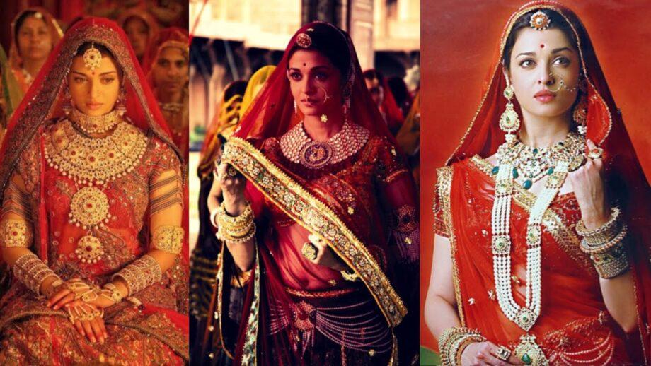 Aishwarya Rai Bachchan Stunning Bridal Jewellery Collection