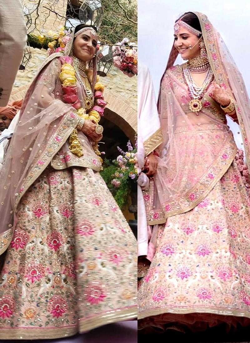 Aishwarya Rai to Anushka Sharma: Most Expensive Wedding Lehenga 4