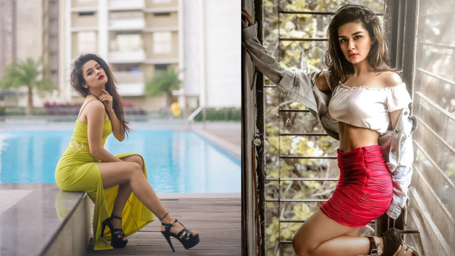 Avneet Kaur's Sultry Looks Sets Temperatures Soaring High