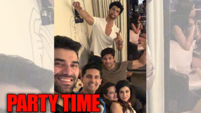 Bigg Boss 13 winner Siddharth Shukla parties hard with Kushal Tandon, Nikitin Dheer, Ravi Dubey