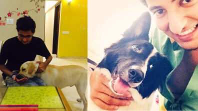 Darshan Raval is an avid dog lover