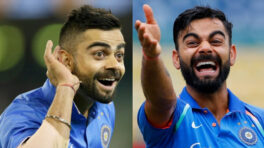 Different Facial Expressions Of Virat Kohli