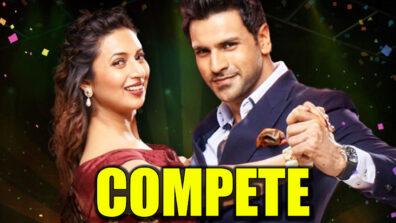 Divyanka Tripathi and Vivek Dahiya compete with each other