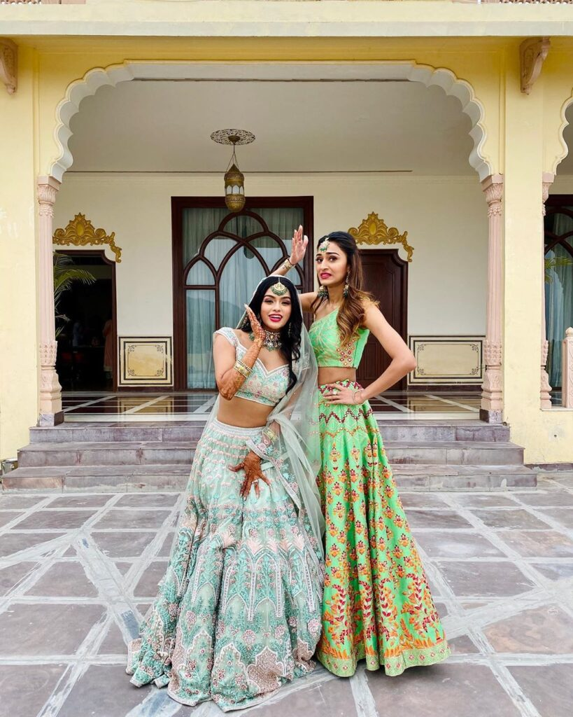 Erica Fernandes' Lehenga collection is perfect for wedding