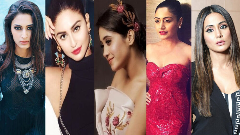Erica Fernandes, Shivangi Joshi, Hina Khan, Krystle Dsouza, Surbhi Chandna: Who looks HOT in western outfits?