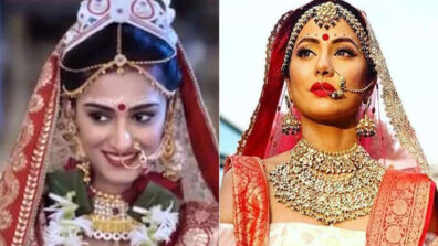 Erica Fernandes vs Hina Khan: Who is the Bengali Bridal Queen?