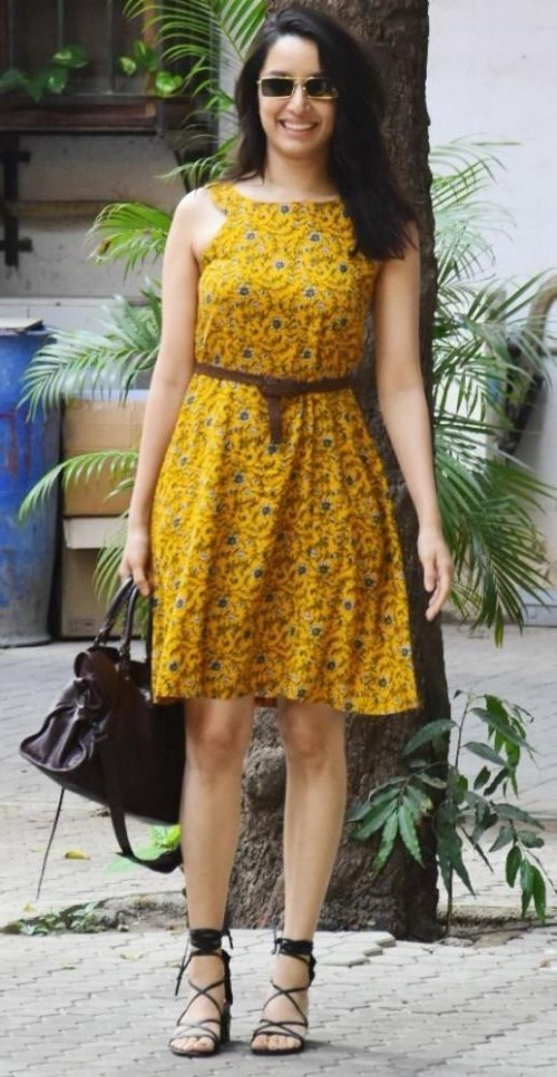 Everytime Shraddha Kapoor stuns in a floral dress 4