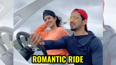 Faisu and Jannat get on a romantic ride