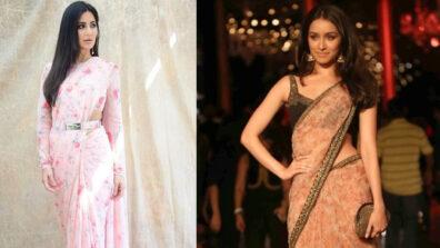 Fashion Faceoff: Shraddha Kapoor vs Katrina Kaif: Who looks gorgeous in Sabyasachi saree?