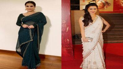 Fashion Faceoff: Vidya Balan vs Shraddha Kapoor: Who looks awe-inspiring in saree?