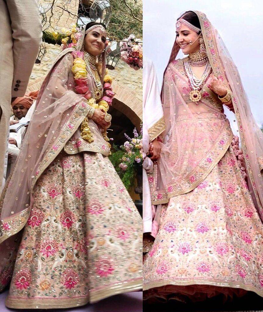 Headline: See Pics: How Anushka Sharma inspired us to wear Sabyasachi collection 2