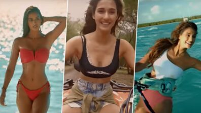 HOT Disha Patani reacts to the love shown by fans for Malang