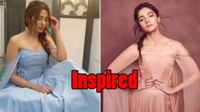 I would rather call it as being inspired by Alia Bhatt's fashion sense: Mahira Sharma's reply to trollers