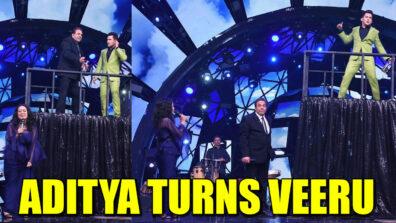 Indian Idol 11: Aditya Narayan turns Veeru for his Basanti aka Neha Kakkar