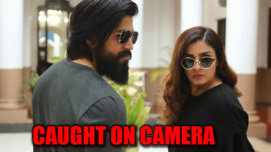 KGF2: Superstar Yash and Raveena Tandon caught on camera